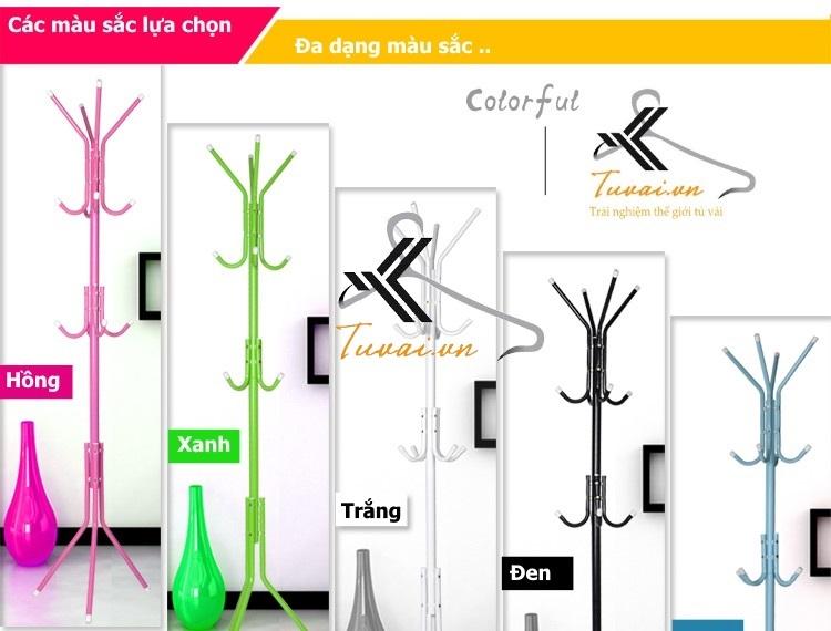 Những mẫu màu sắc cây treo quần áo Hà Nội