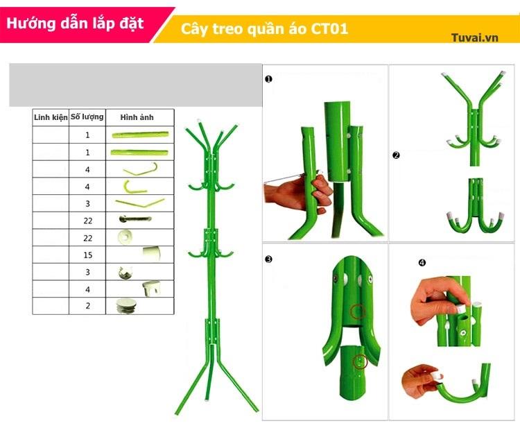 Hướng dẫn sử dụng cây treo quần áo Hà Nội