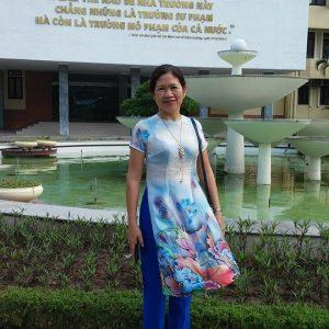 Cô  Vũ Thị Thanh Vân