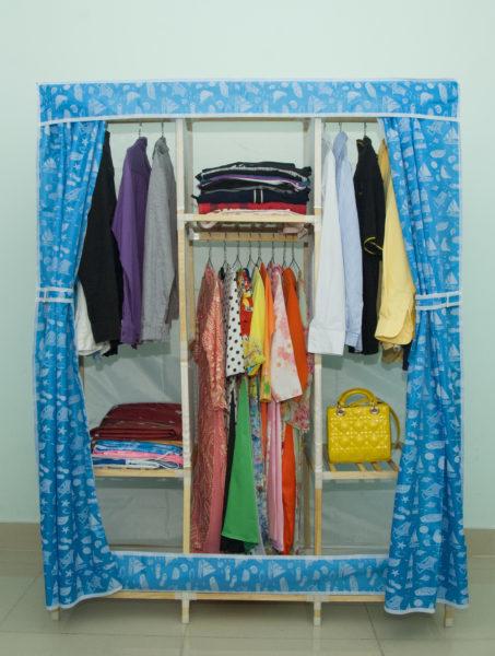 Tủ vải khung gỗ Minh Long khổ 1m3