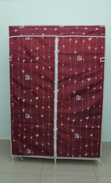 Tủ vải khung gỗ Minh Long khổ 1m1
