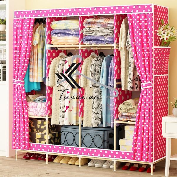 Tủ vải khung gỗ Hurghada
