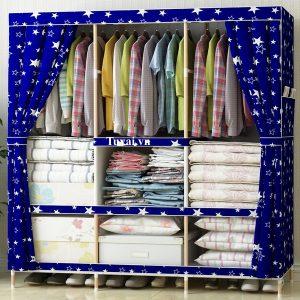 Tủ vải khung gỗ Quảng Đông