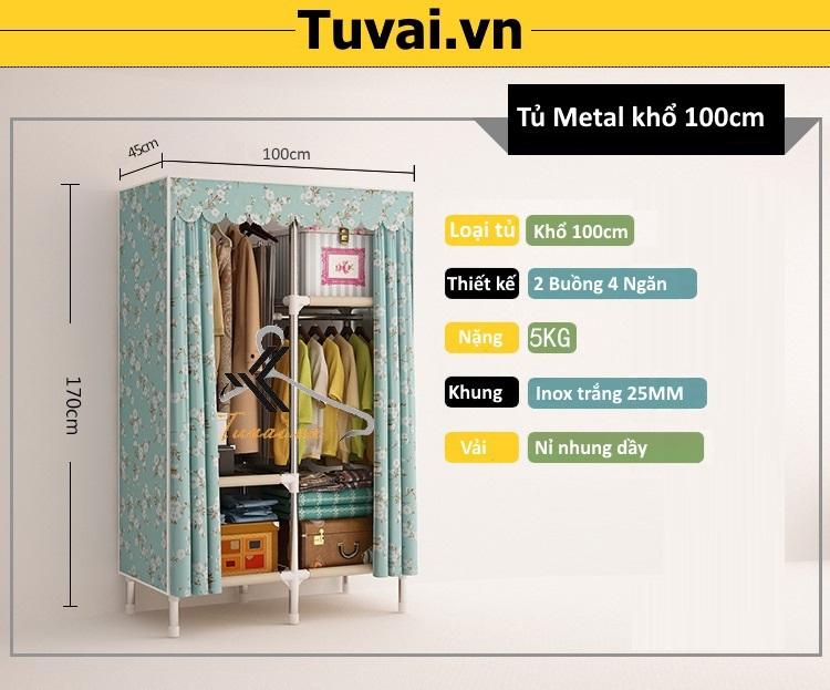 Thông tin tủ Metal khổ 100cm