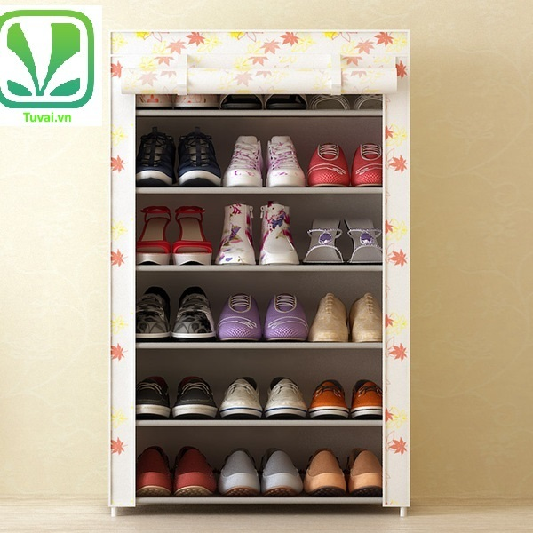 Tủ đựng giày Home BL màu trắng sữa