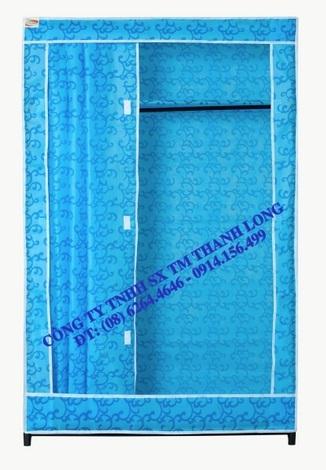 Tủ TVAI11 màu xanh