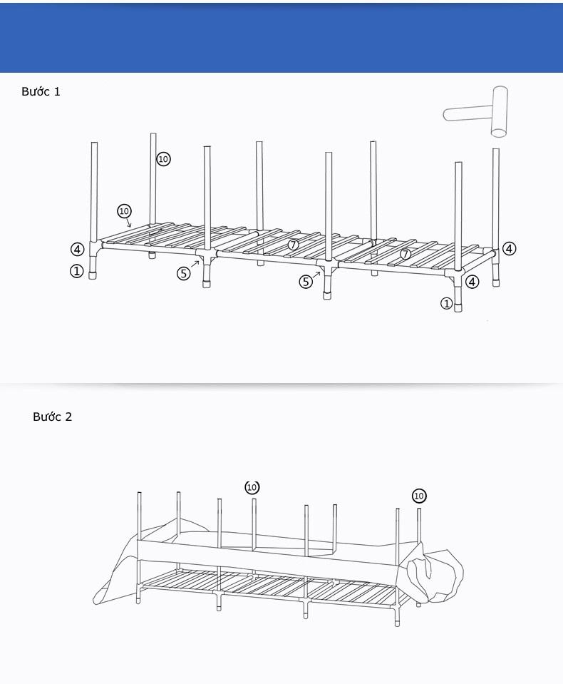 Hướng dẫn lắp đặt tủ vải khung gỗ hà nội