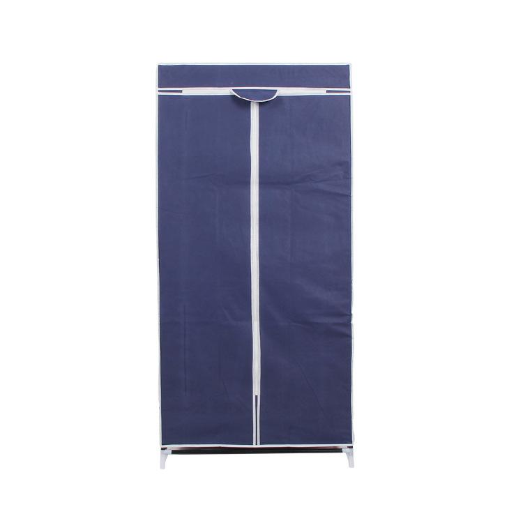 tủ vải 1 buồng 2 ngăn khi đóng
