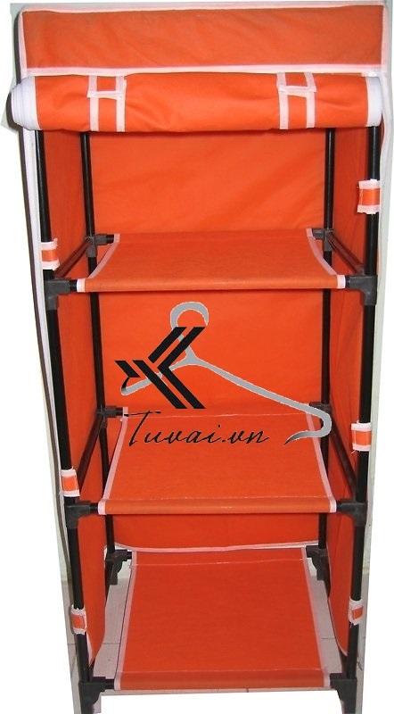 Tủ vải Thanh Long TVAI04 màu cam