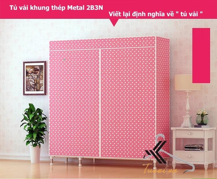 Tủ vải Metal 2B3N