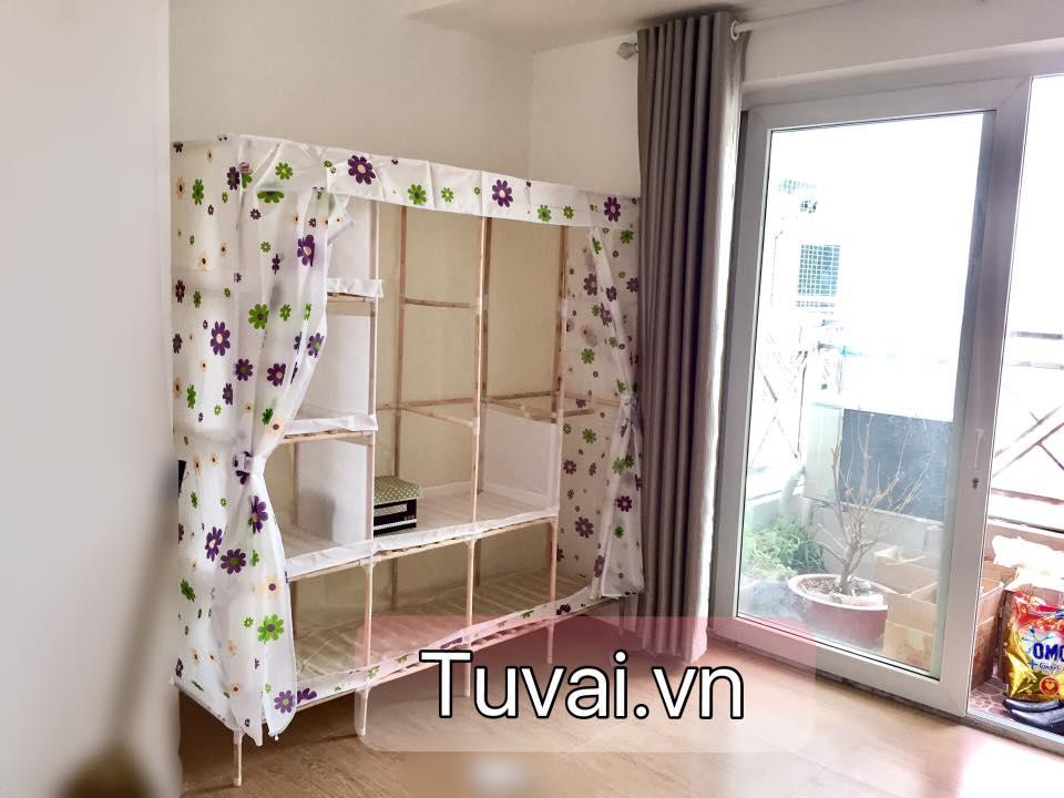 Tủ vải khung gỗ nặng nhất