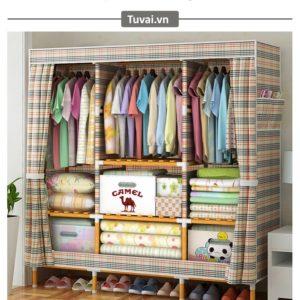 Ưu điểm của tủ vải đựng quần áo cao cấp trên thị trường hiện nay