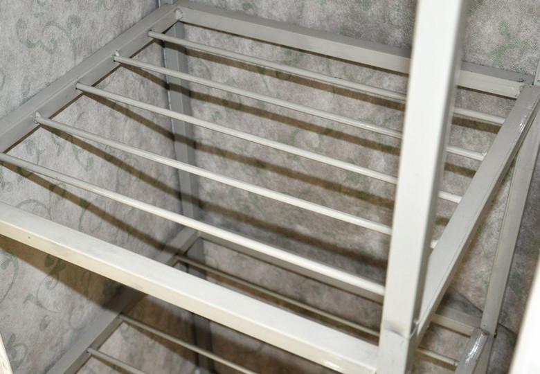 Khung sắt đựng đồ gấp của tủ vải Đài Loan Minolta-1