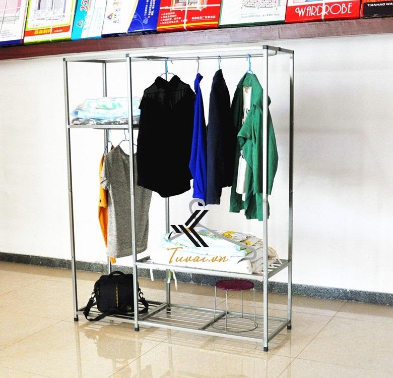 Khung tủ vải Đài Loan Minolta 2 ngăn treo
