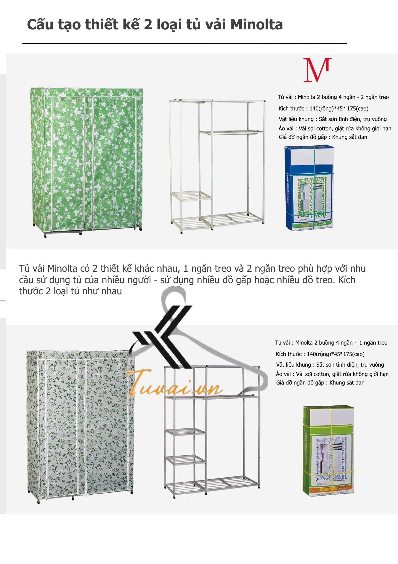 Thông tin sản phẩm tủ vải Đài Loan Minolta