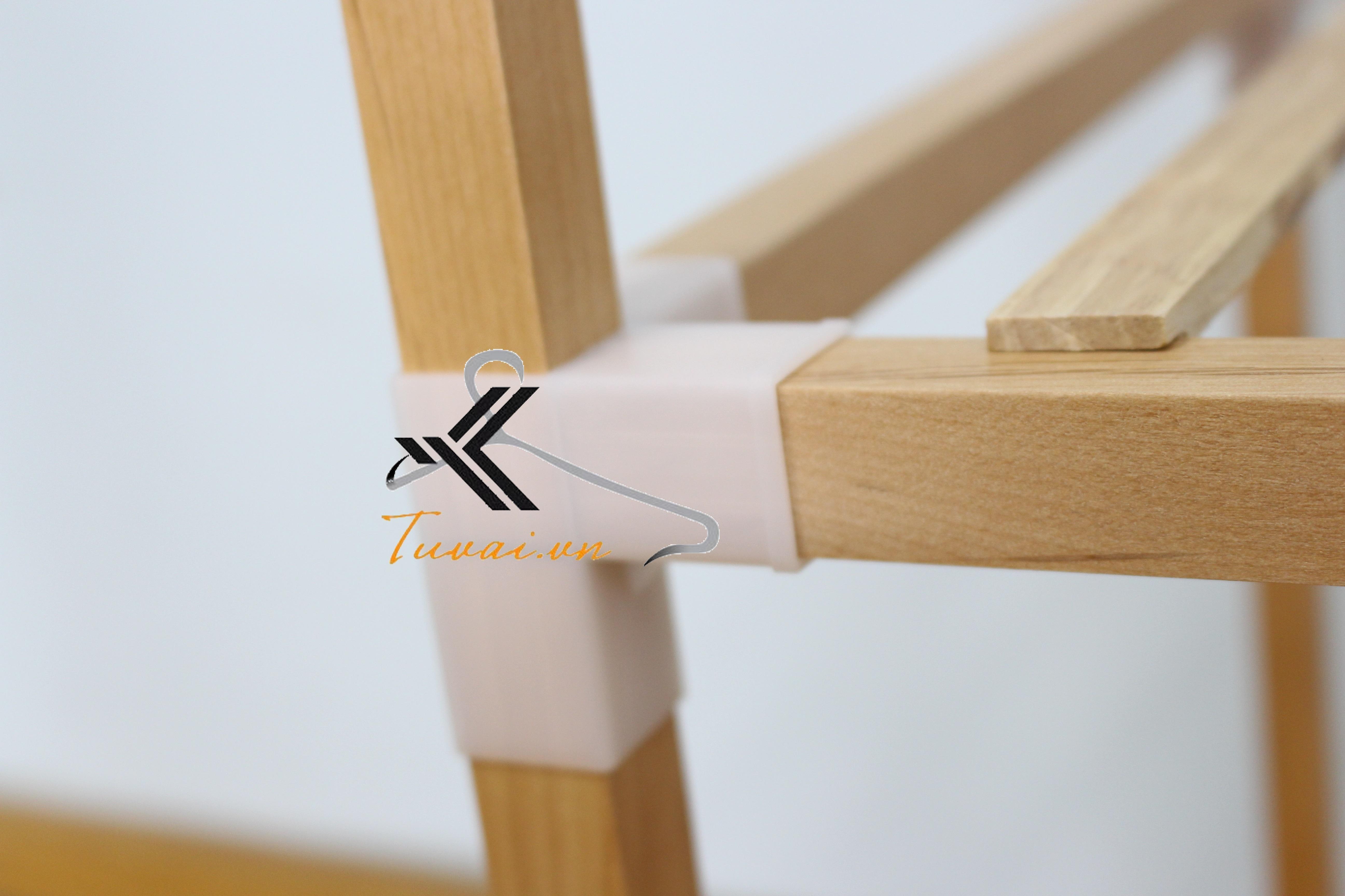 Chốt nhựa của tủ vải khung gỗ Minh Long