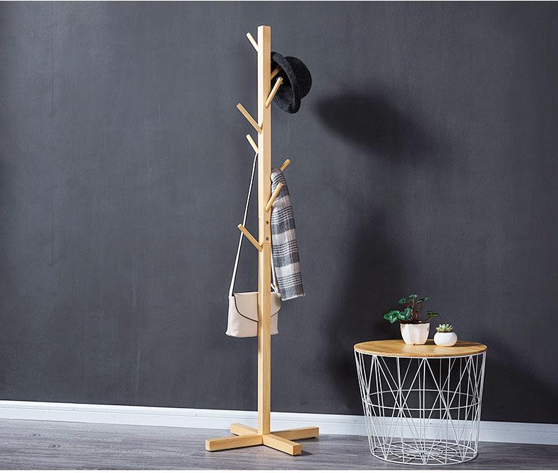Cây treo quần áo bằng gỗ CT02
