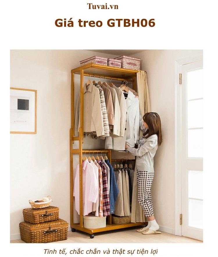 Giá treo quần áo GTBH06