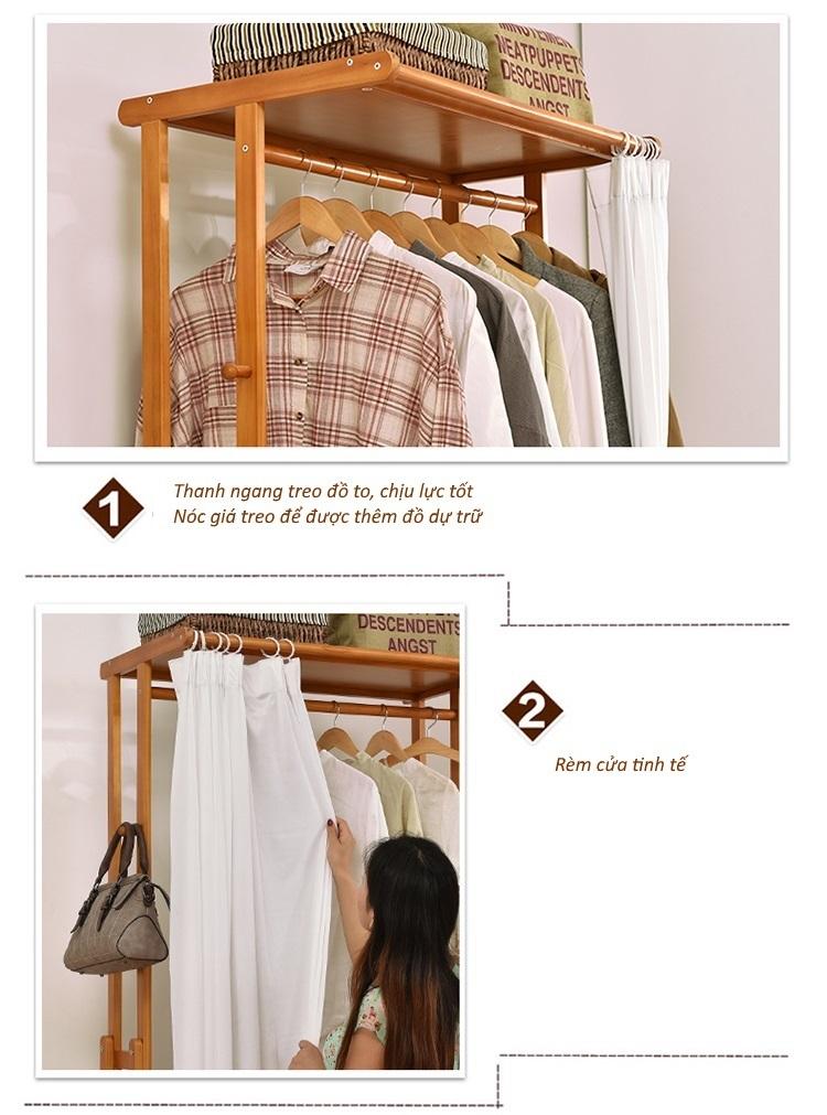 Giá treo quần áo tiện ích