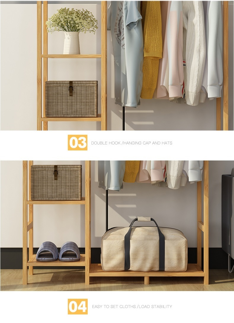 Ưu điểm của giá treo quần áo khung gỗ GT09