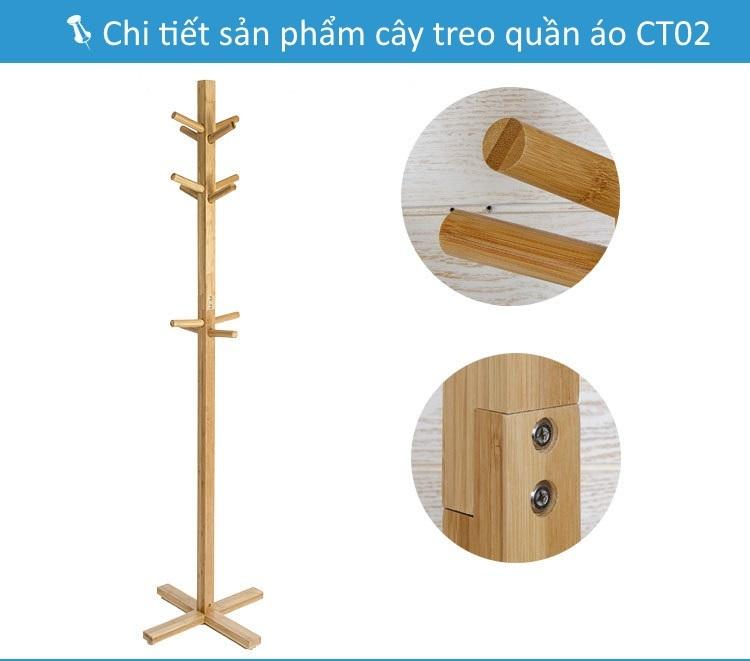 Chi tiết thân cây treo