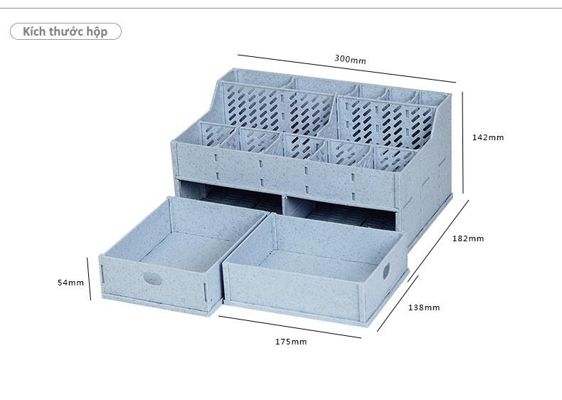 Kích thước hộp đựng mỹ phẩm NAJU