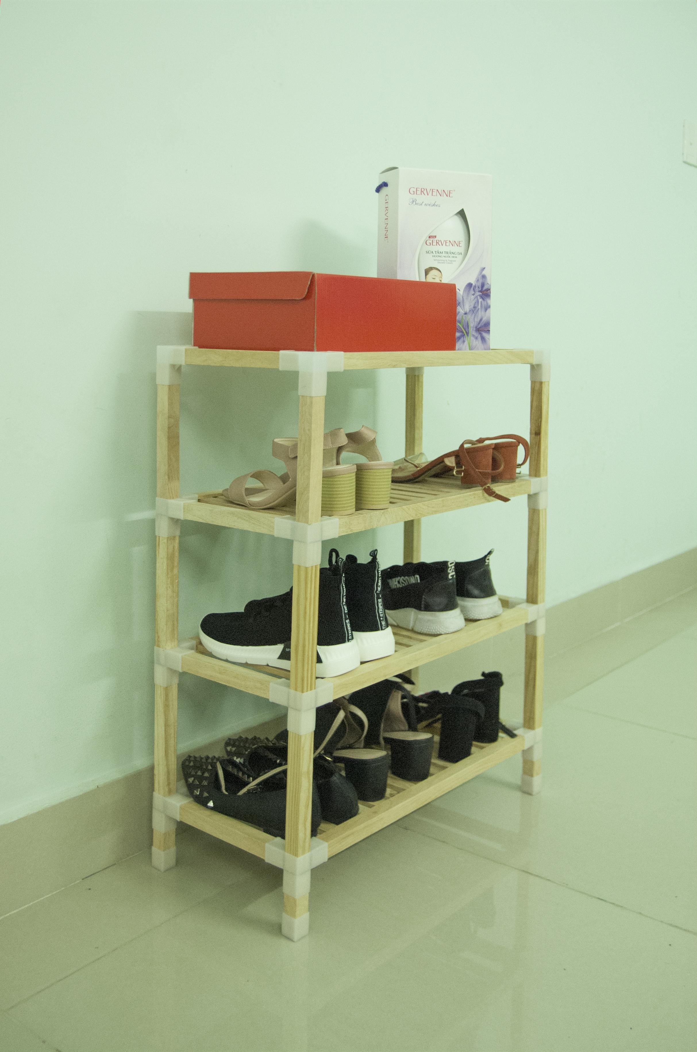 Kệ giày 4 tầng Minh Long