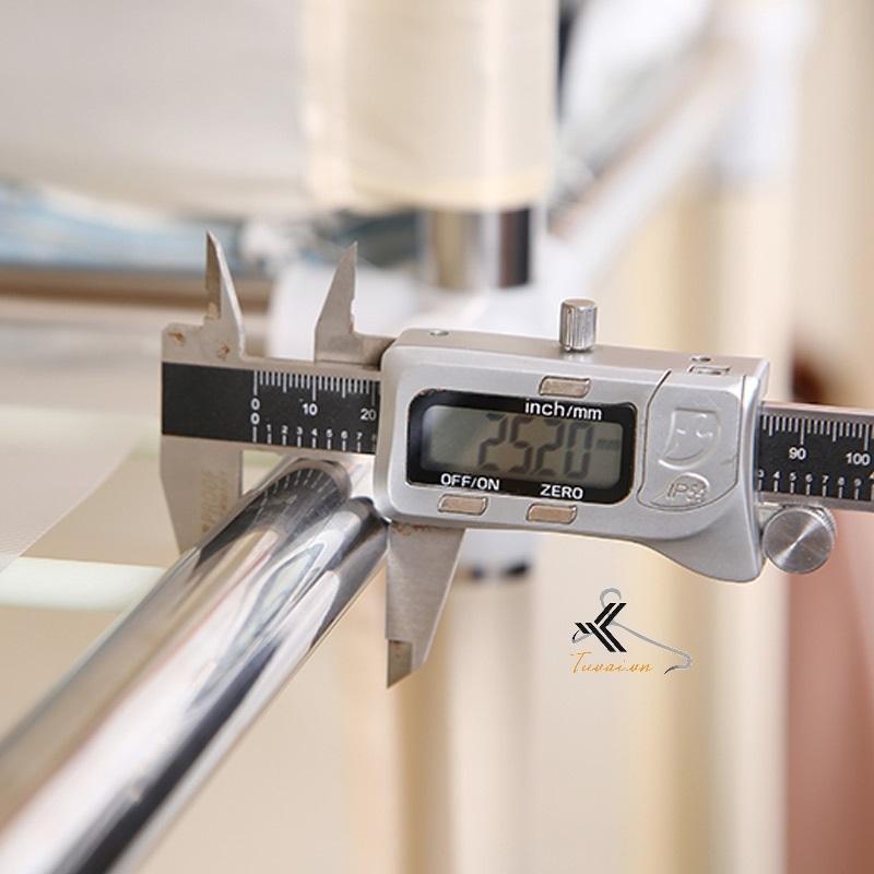 Khung thép đo thực tế 25mm