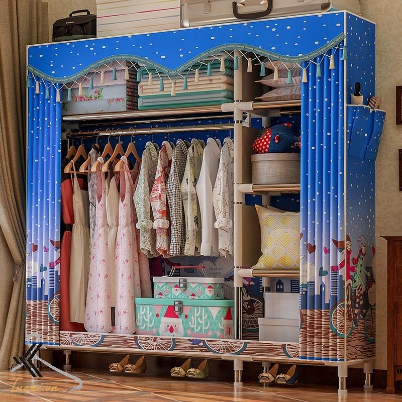 Tủ vải Solno khổ 1m3 họa tiết tình yêu