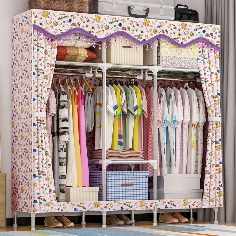 Tủ vải Solno khổ 1m7 màu họa tiết nhí 1