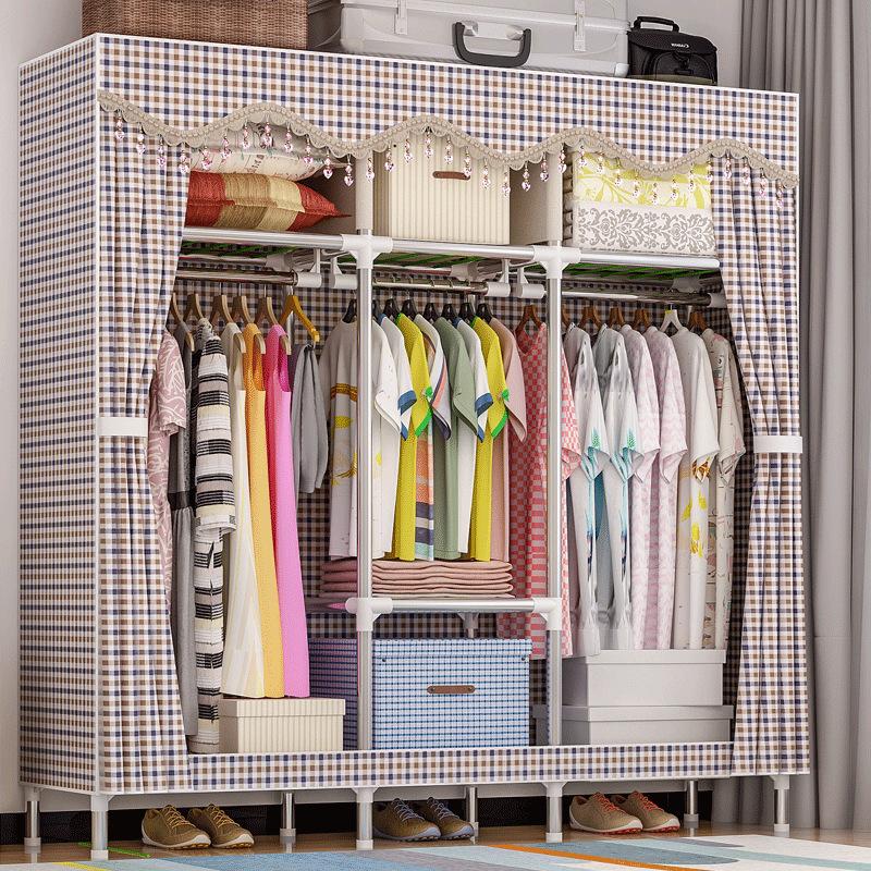 Tủ vải Solno khổ 1m7 màu caro Burberry