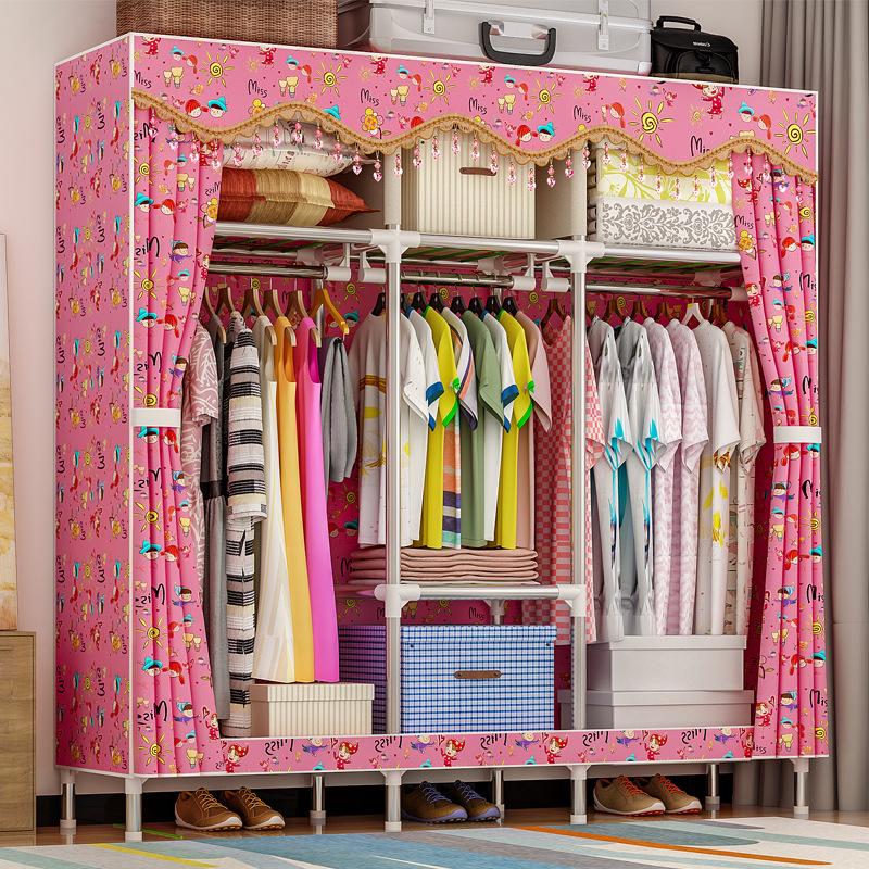 Tủ vải Solno khổ 1m7 màu hồng