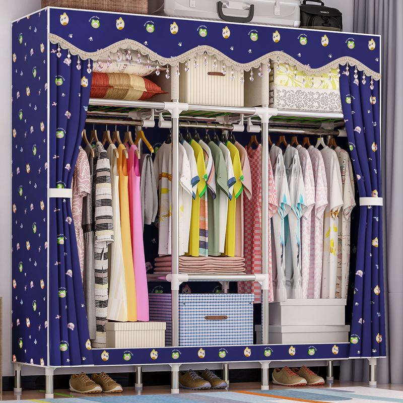 Tủ vải Solno khổ 1m7 màu xanh đen