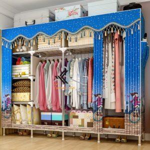 Tủ vải Solno khổ 2m1 màu xanh da trời