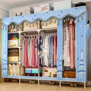 Tủ vải Solno khổ 2m1 màu xanh ngôi sao