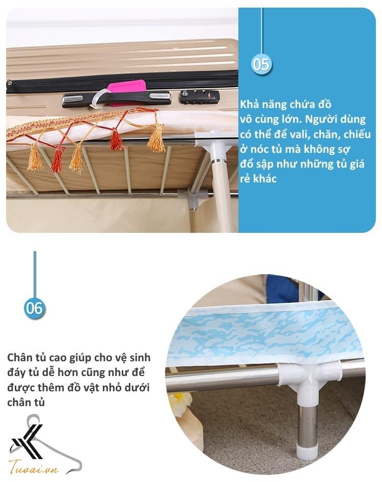 Những ưu điểm của tủ vải Solno khổ 1m3